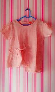 Baju anak semi kaftan (2-3 th)