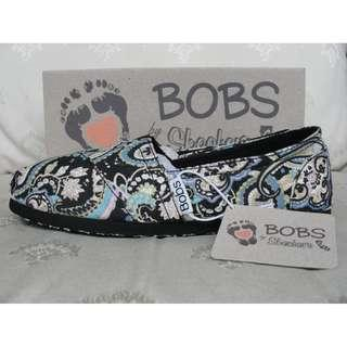 Authentic Bob by Skechers Midnight Blue Shoes Size 5