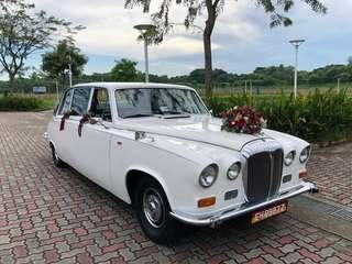Daimler DS420 Limousine Landaulette for Wedding/Events Rental