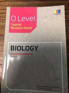 Olevel pure biology topical revision notes
