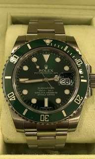 """Rolex Submariner """" The Hulk """""""