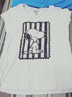 🚚 Snoopy短袖上衣 lativ聯名T