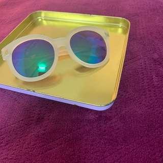 🚚 漸變色 霧面果凍質感 卯釘 太陽眼鏡 墨鏡