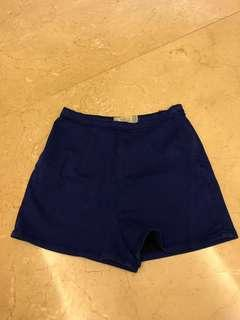 Zara electric blue shorts