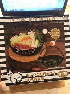 Tore a 日本景品 鬆弛熊 壽喜燒鍋