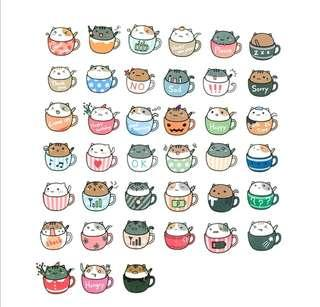 🚚 [INSTOCK] Hamster in a Cup Stickers