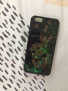 Geoshapes with glitters casing iphone 6