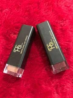 UK Brand - PS Matte Long Last Lipsticks