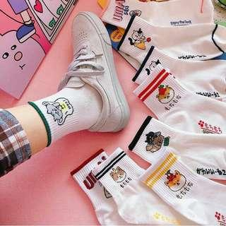 CARTOON SOCKS 🌙