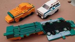 Mcdonalds transforming cars