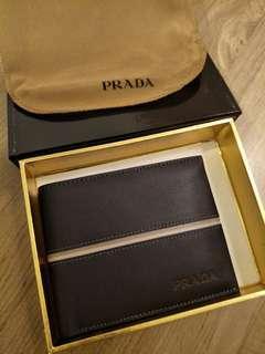 PRADA inspired wallet for men (Triple AAA quality)