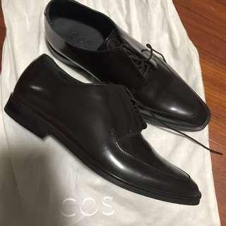 COS Dark Brown Lace Up Dress Shoes