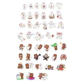 🚚 [INSTOCK] Cute Line Stickers