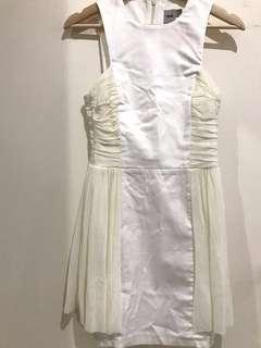 ASOS White Dress Size US Size 2