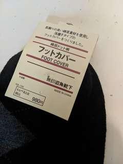 Muji 無印隱形船襪 袜