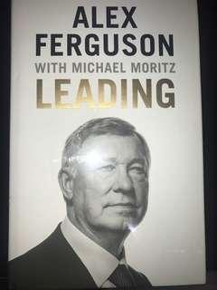 *NEW Sealed LEADING by Alex Ferguson