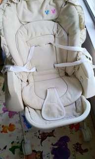 廸士尼嬰幼兒餐椅 8成新