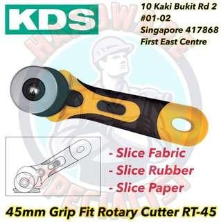 KDS 45mm Grip Fit Rotary Cutter RT-45