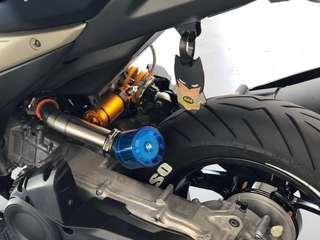 Aerox 155 open pod filter