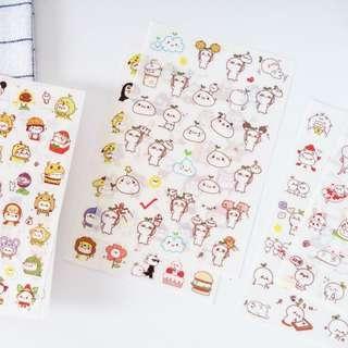 🚚 [ INSTOCK ] Cute Budding Pop Stickers
