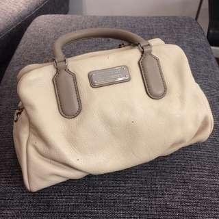 marc by marc jacobs cream colour handbag 杏色手袋