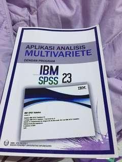 Aplikasi analisis multivariate IBM SPSS 23
