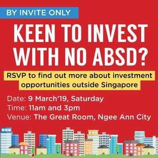 Invest Without Paying ABSD?
