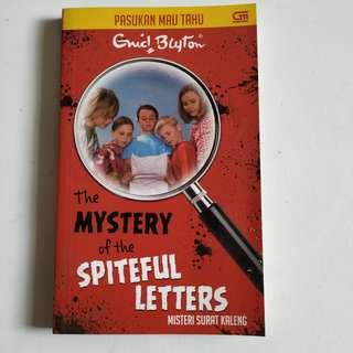 The Mystery of the Spiteful Letters, Enid Blyton