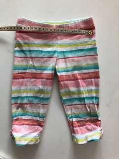 Gymboree quarter pants, size 3T