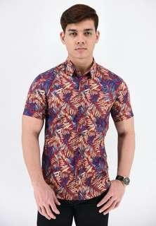 Kemeja Batik MAROON (SSB86-031)