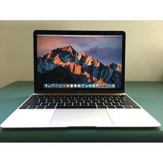 """MacBook 12"""" 256GB SSD Turbo 2.4GHz 8GB RAM Office 2016 Photoshop"""