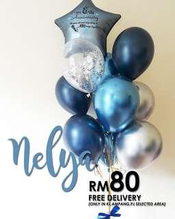 Balloon Surprise Delivery- Balloon Series - NELYA