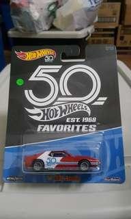 Hotwheels 50th Anniversary Favorites '71 AMC Javelin *rubber tires *metal base *classic *vintage *racing
