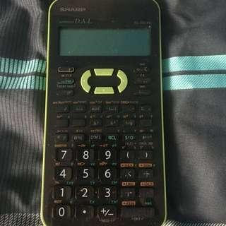 Sharp Scientific calculator pls swipe