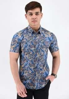Kemeja Batik BLUE/BROWN (SSB86-042)