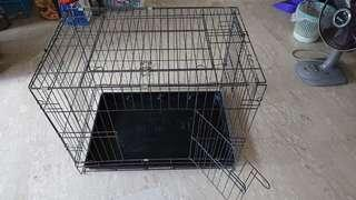 75cm foldable cage