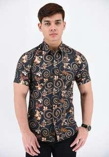 Kemeja Batik DARK GREY (SSB85-061)