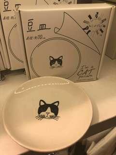 日本 貓咪 小碟子