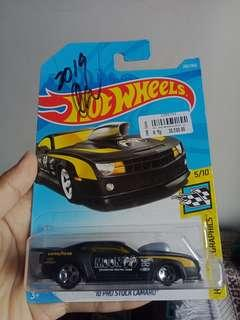 Hotwheels 10 pro stock camaro , mooneyes signature