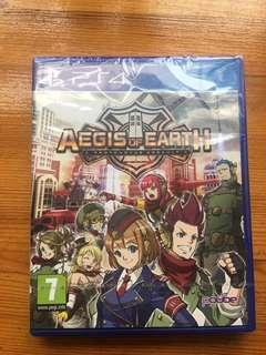 Aegis of Earth PS4 Sealed Unopen