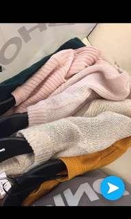 H&M Knitted Tops