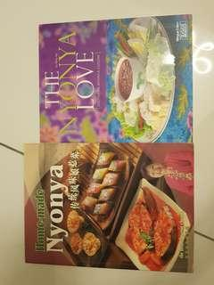 Nyonya cooking book