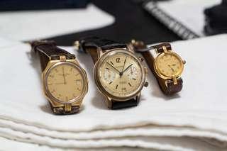Vintage mechanical & quartz watches