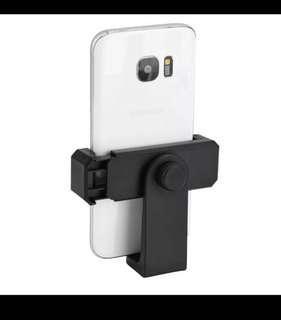 Universal 360 rotation phone clip mount for tripod monopod