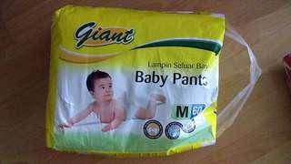 M size diapers