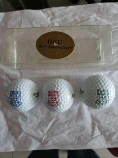 HKU 90th Anniversary Golf Balls (Set of 3)