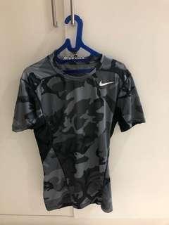 Nike Pro Combat fitted size M like new bukan adidas