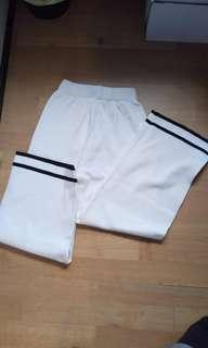 A set of women's sweater and trouser.