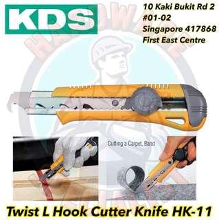 KDS Twist L Hook Cutter Knife HK-11