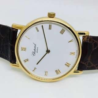 Chopard 18K Solid Gold Watch